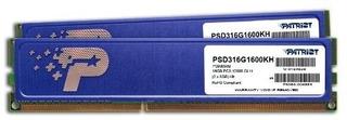 Firma Patriot Memory Ddr3 De 16 Gb (2 X 8 Gb Cl11 Pc3-12800