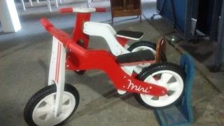 Patacleta Bici Madera Patapata Bicicleta De Madera Par Niños