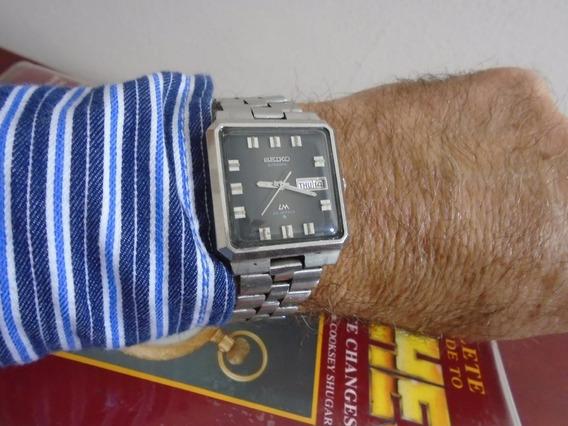 Relógio Seiko Lord Matic 5606 5110 Automático Japan Grande