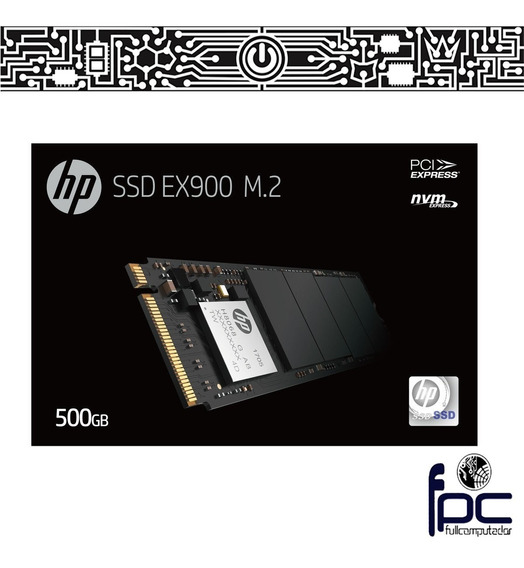 Fpc Disco M.2 Nvme Ssd Hp Ex900 500gb 2100mb/s. Incl Iva