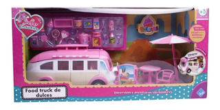 Camioneta Van Desplegable De Dulces Duende Azul 7161 Full