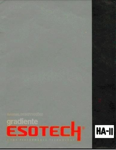 Manual Deck Gradiente Ha-ii Esotech - Cópia Dig. 19 Pgs