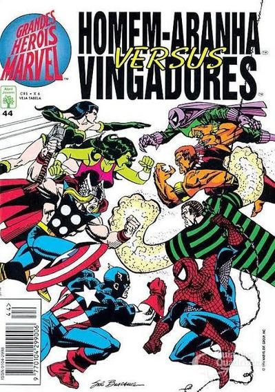 Grandes Heróis Marvel 44, Abril (faço Módico)