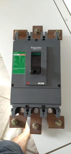 Imagem 1 de 3 de Disjuntor Trifásico Schneider 500 Ap