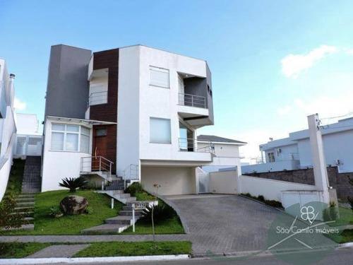Imagem 1 de 30 de Casa Com 4 Dormitórios À Venda, 450 M² Por R$ 2.000.000,00 - Granja Viana - Cotia/sp - Ca0450