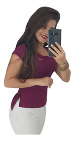 Long Line Cropped Feminina Blusas Camisas Roupas Atacado Top