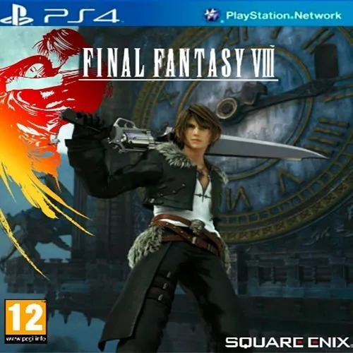 Final Fantasy Viii 8 Remastered Ps4 1