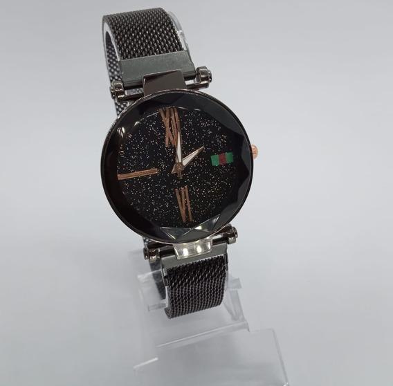 Relógio Feminino Céu Estrelado Pulseira Magnética Oferta !!