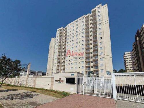 Apartamento 52 M² 2 Dorms Próx. Faculdade Brasil - V8324