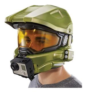 Mattel Costume Halo Master Chief Casco Táctico Gopro