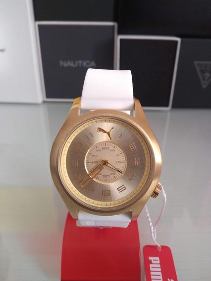 Relógio Puma Feminino Pulseira Em Silicone