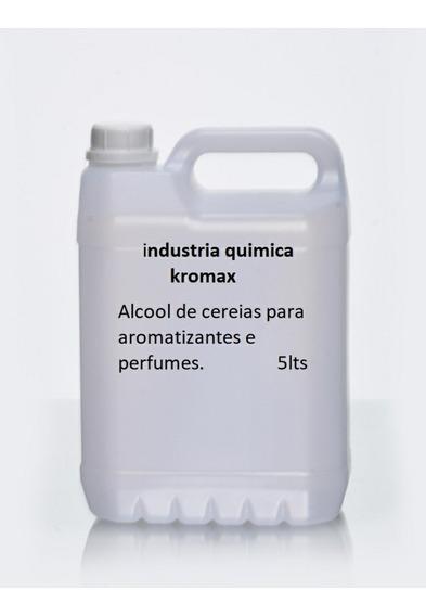 Kit 4 Uni. Alcool De Cereais Refinado 5lts Max. 4 Unidades