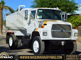 Camion Pipa De Agua 8000 Lts Ford 1988