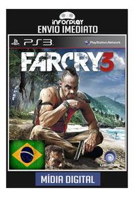 Far Cry 3 Pt-br Ps3 Psn Envio Imediato