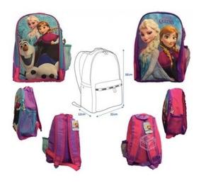Mochila Infantil Frozen Disney Nueva Original $10000c/u