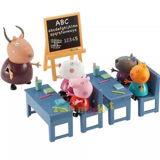 Peppa Pig Clase Escuela Aula Class Room Original