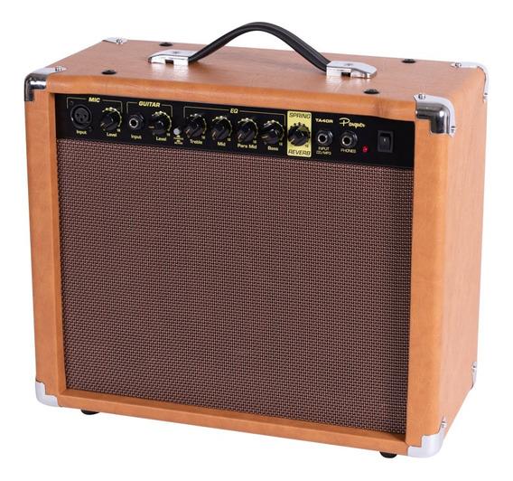 Amplificador Guitarra Parquer Vintage Con Reverb 40w Ta40r