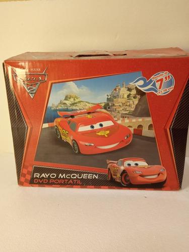 Reproductor De Dvd Portatil Cars 2 Disney Importado Usa