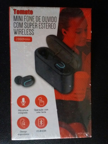 Mini Fone De Ouvido Super Estéreo Sem Fio