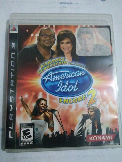 Karaoke Revolution American Idol 2 Seminovo Ps3