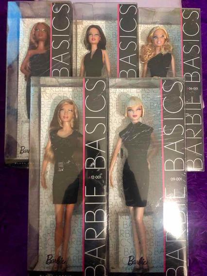Boneca Coleção Barbie Basics 001- 04 Bonecas