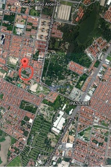 Terreno Residencial E Comercial 1677,20 M², Fundo Correspondente, Passaré, Fortaleza. - Te0035