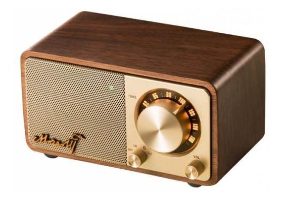 Rádio Sangean Mozart Construído Em Madeira Fm Bluetooth
