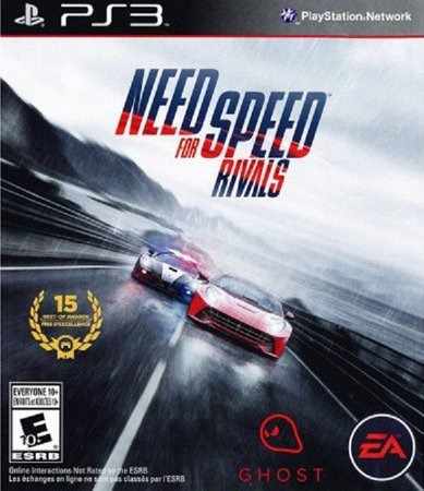 Jogo Ps3 Need For Speed Rivals Midia Digital