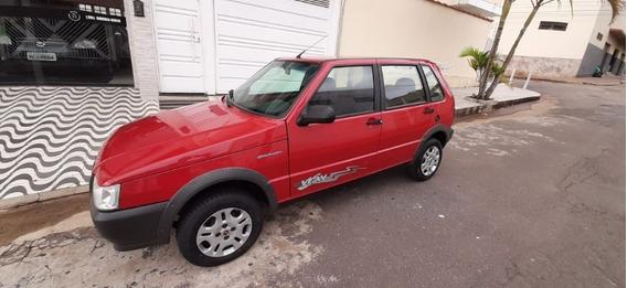 Fiat Uno Way 2013 Em Otimo Estado Baixa Kilometragem