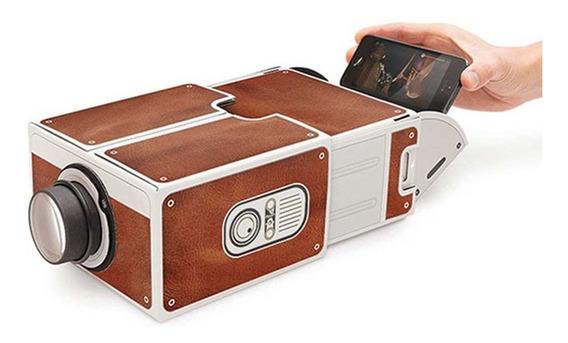 Uso Casa Mini Portátil Inteligente Cinema Projetor Do Telefo
