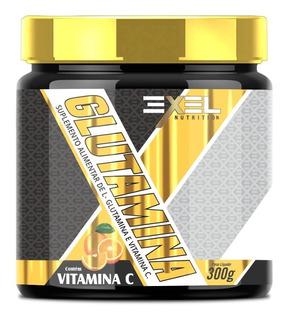 Glutamina Com Vitamina C Exel - 300g