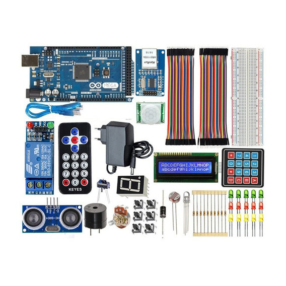 Kit Aduino Mega 2560 Automação Residencial - Ethernet / Wifi