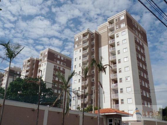 Apartamento Com 2 Dormitórios À Venda, 58 M² No Residencial Jardim Botânico Por R$ 247.000 - Jardim Adelaide - Hortolândia/sp - Ap6644