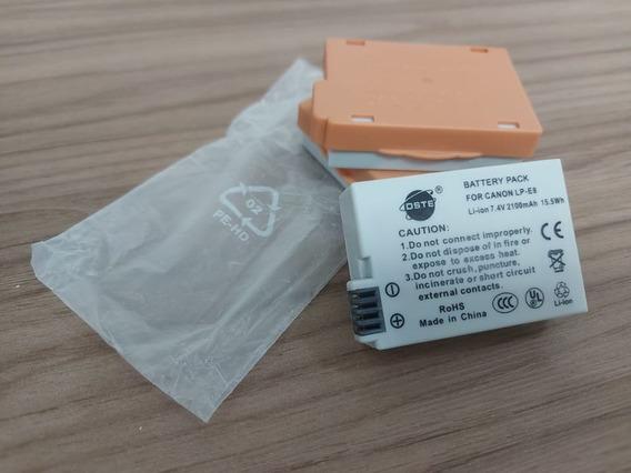Kit Com 3 Baterias Lp-e8