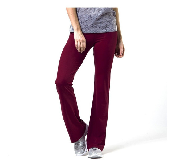 Calça Legging Flare Cintura Alta Feminina Social