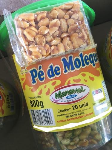 Imagem 1 de 7 de 120 Doces Caseiros Pé De Moleque  Manamel Deliciosos Diverso