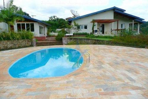 Chácara Residencial À Venda Em Condomínio Fechado, Jardim Estância Brasil, Atibaia - Ch0777. - Ch0777
