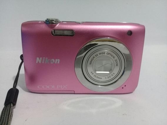 Câmera Nikon Coolpix S2600 Rosa
