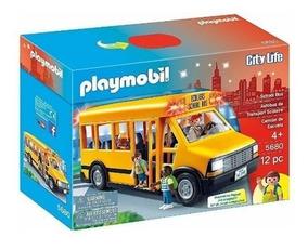 Playmobil City Life Ônibus Escolar - Sunny 5680
