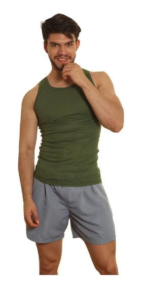 Camiseta Musculosa Color T/especiales Morley 100% Algodon