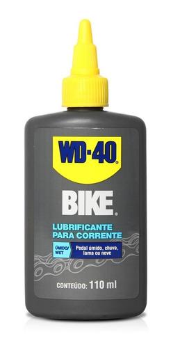 Imagem 1 de 3 de Lubrificante Umido Bike Wet Wd40 110ml