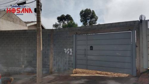 Terreno À Venda, 336 M² Por R$ 280.000,00 - Residencial Santo Antônio - Franco Da Rocha/sp - Te0412