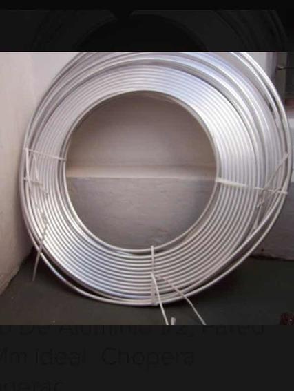 Caño Aluminio 1/2 Ideal Para Serpentina De Chopera