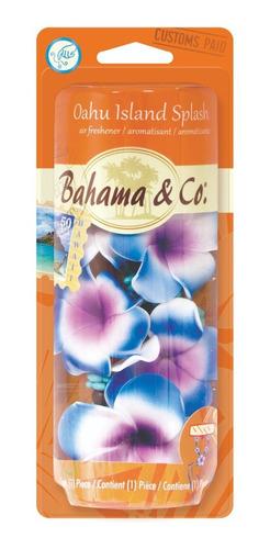 Imagen 1 de 2 de Perfume Fragancia Para Auto Bahama - Flores  Necklace