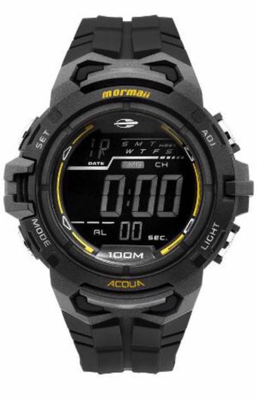 Relógio Mormaii Masculino Preto Mo11147a/8p