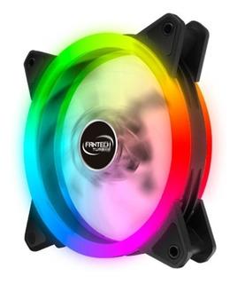 Ventilador Rgb Fantech Fc 124 Dul Ring Rgb Oferta -revogames