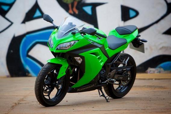 Kit Carenagem Kawasaki Ninja 300 Verde Completo Mod Original