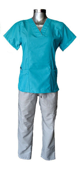 Pijama Quirúrgica Dama Verde Jade