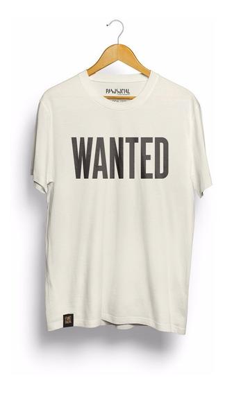 Camiseta Pano Social 100% Algodão Orgânico By Ex Detentos.