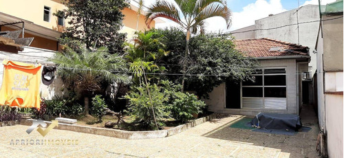 Terreno À Venda, 480 M² Por R$ 1.000.000 - Vila Pires - Santo André/sp - Te0050
